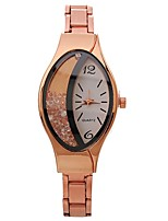 cheap -Women's Quartz Wrist Watch Chinese Large Dial Casual Watch Alloy Band Elegant Fashion Black Silver Gold Rose Gold