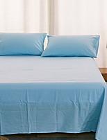 abordables -Ensembles housse de couette Couleur Pleine Polyester / Coton 100% Coton Imprimé 2 Pièces