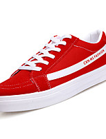 cheap -Men's Shoes Fabric Spring Fall Comfort Sneakers for Casual White Black Red