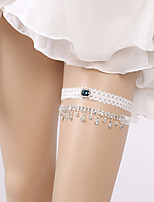 cheap -Lace Romantic Wedding Wedding Garter 617 Rhinestone Garters Wedding Party Evening