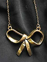 cheap -Women's Pendant Necklace  -  Fashion Sweet Bowknot Gold 45cm Necklace For Daily Office & Career