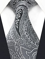 cheap -Men's Party Work Rayon Necktie - Color Block Paisley Jacquard