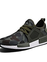 cheap -Men's Shoes Customized Materials Spring & Fall Comfort / Light Soles Sneakers Gray / Army Green