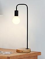 Недорогие -Художественный Декоративная Настольная лампа Назначение Дерево / бамбук 220-240Вольт Черный Серый