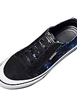 cheap -Men's Shoes Rubber Spring / Summer Comfort Sneakers Black / Red / Black / Blue / Black / Yellow