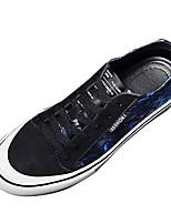 Недорогие -Муж. обувь Резина Весна / Лето Удобная обувь Кеды Черный / Красный / Черный / синий / Черный / Желтый