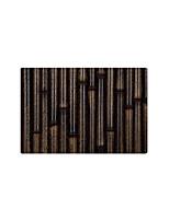 abordables -Créatif Décontracté Rustique Paillasson Carpettes Tapis Anti-Dérapants Molleton, Qualité supérieure Rectangle Rayé Lignes / Vagues