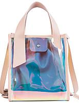preiswerte -Damen Taschen PVC / PU Bag Set 2 Stück Geldbörse Set Knöpfe für Veranstaltung / Fest Grün / Rosa