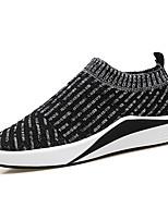 abordables -Homme Chaussures Tulle Printemps Automne Confort Mocassins et Chaussons+D6148 pour Décontracté Noir Bleu de minuit