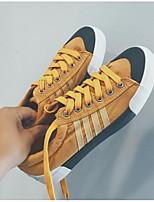 Недорогие -Муж. обувь Полотно Весна / Осень Удобная обувь Кеды Черный / Серый / Желтый