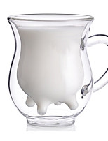 cheap -Drinkware High Boron Glass Glass Girlfriend Gift Boyfriend Gift Heat-Insulated Cartoon Cute 1pcs