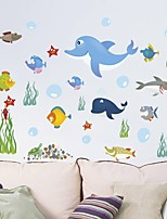 abordables -Tatuajes de pared Calcomanías Decorativas de Pared - Calcomanías de Aviones para Pared Animales Puede Cambiar de Ubicación Removible