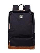 cheap -Unisex Bags Nylon Backpack Zipper for Office & Career Black / Dark Blue / Gray