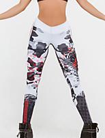 abordables -Femme Quotidien Sortie Sportif Legging - Géométrique Taille haute
