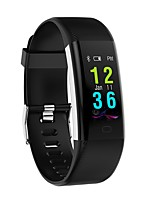 abordables -Montre Smart Watch KF07 for Android 4.4 / iOS Bluetooth / Calories brulées / Pédomètres Traqueur de pouls / Podomètre / Moniteur