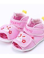 preiswerte -Mädchen Jungen Schuhe Tüll Sommer Lauflern Komfort Sandalen für Normal Blau Rosa Khaki