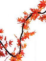abordables -Fleurs artificielles 5 Une succursale style pastoral / Moderne Plantes Guirlande et Fleur Murale