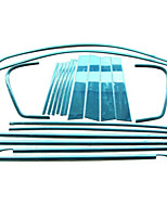cheap -20 PCS Silver Car Stickers Business Window Trim Not Specified Window Trim