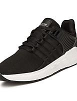 baratos -Homens sapatos Tule Primavera / Outono Solados com Luzes Tênis Rosa e Branco / Branco / Preto / Preto / Vermelho