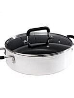 cheap -Cookware Aluminium Alloy Stainless Steel Round Cookware 1pcs