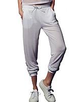 abordables -Femme Pantalons de Course Séchage rapide Pantalon / Surpantalon Activités Extérieures Spandex Blanc / Noir M / L / XL