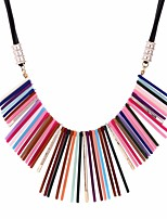 cheap -Women's Lovely Statement Necklace  -  Vintage Geometric Rainbow 50cm Necklace For Daily Masquerade