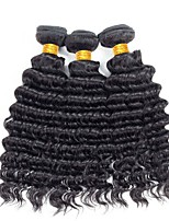 cheap -Vietnamese Hair Deep Wave Curly Human Hair Weaves 50g x 3 Coloring For Black Women New Arrival Youth Gifts Brands Outlet Extension All