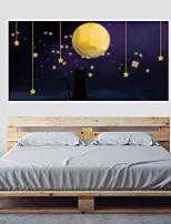 abordables -Calcomanías Decorativas de Pared - Pegatinas de pared de animales Paisaje 3D Sala de estar Dormitorio Baño Cocina Comedor Habitación de