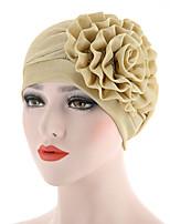 Недорогие -Универсальные Очаровательный Широкополая шляпа Однотонный