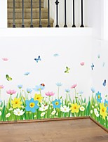 baratos -Autocolantes de Parede Decorativos - Autocolantes de Aviões para Parede Floral / Botânico Sala de Estar Quarto Banheiro Cozinha Sala de