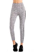 cheap -Women's Basic Sweatpants Pants - Striped