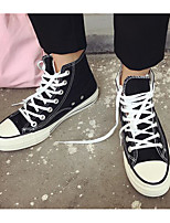 Недорогие -Муж. обувь Полотно Весна / Осень Удобная обувь Кеды Белый / Черный / Желтый