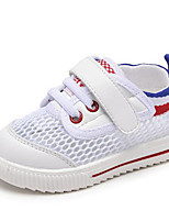 cheap -Girls' Boys' Shoes Tulle Spring Comfort Sneakers for Casual Black Red Green