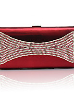 cheap -Women's Bags PU Evening Bag Pearl Detailing for Event/Party Spring All Seasons Purple Wine