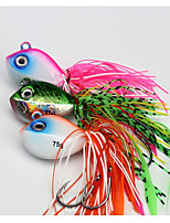 cheap -1pcs pcs Fishing Lures Jig Head Lead Common Sea Fishing Fly Fishing Bait Casting Ice Fishing Spinning Jigging Fishing Freshwater Fishing