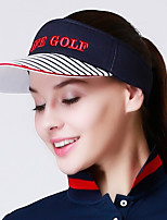 cheap -Visor Spring Summer Fast Dry Breathability Women's Cotton Stripe