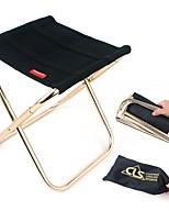 abordables -Chaise Pliable de Camping Extérieur Léger, Mini Tissu Oxford, Alliage d'aluminium pour Pêche / Camping - 1 personne Noir