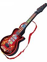Недорогие -Электрическая гитара Игрушечные музыкальные инструменты Гитара Подсветка Музыка Девочки Мальчики 1pcs