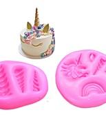 abordables -Outils de cuisson Silicone Multifonction Pour Ustensiles de cuisine Moules à gâteaux
