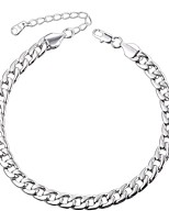 cheap -Anklet - Men's Women's Silver Rose Gold Fashion Copper Anklet For Daily