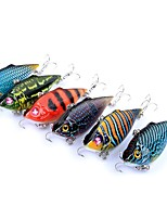 cheap -6pcs pcs Vibration / VIB Fishing Lures Vibration / VIB Hard Bait ABS Outdoor Sports & Outdoors Sea Fishing Fly Fishing Bait Casting