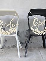abordables -Mariage En bois Décorations de Mariage Thème jardin / Mariage Toutes les Saisons