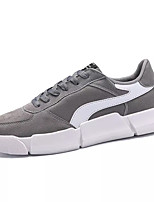 cheap -Men's Shoes Pigskin Spring / Fall Comfort Sneakers Black / Gray