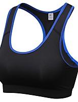 preiswerte -Damen Hohe Unterstützung Sport-BHs Atmungsaktivität Sport-BHs für Übung & Fitness Polyester Rose Rot / Blau / Grau M / L / XL