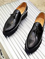 abordables -Homme Chaussures Tulle Automne Hiver Chaussures de plongée Mocassins et Chaussons+D6148 Boucle pour Décontracté Soirée & Evénement Or