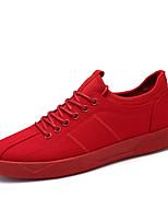 Недорогие -Муж. обувь Полиуретан Весна / Осень Удобная обувь Кеды Черный / Серый / Красный