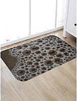 cheap -Creative Sports & Outdoors Modern Doormats Area Rugs Bath Mats Flannelette, Superior Quality Rectangle Polka Dot Spots & Checks Rug