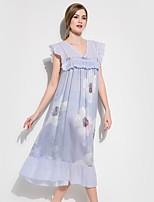 abordables -V Profond Satin & Soie Pyjamas Femme Fleur