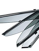 cheap -4pcs Car Deflectors & Shields Transparent Paste Type For Car Window For Buick Verano All years