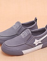 cheap -Girls' Boys' Shoes Canvas Spring Fall Comfort Loafers & Slip-Ons for Casual Black Dark Blue Gray